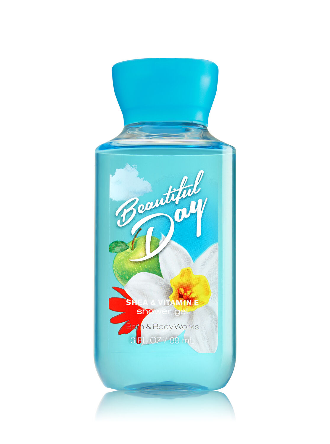 signature collection beautiful day travel size shower gel bath and body works