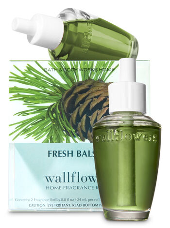 Fresh Balsam Wallflowers Refills, 2-Pack - Bath And Body Works