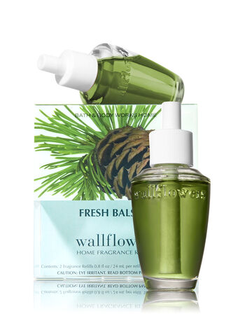 Fresh Balsam Wallflowers 2-Pack Refills - Bath And Body Works