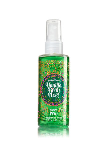 Signature Collection Vanilla Bean Noel Travel Size Fine Fragrance Mist - Bath And Body Works