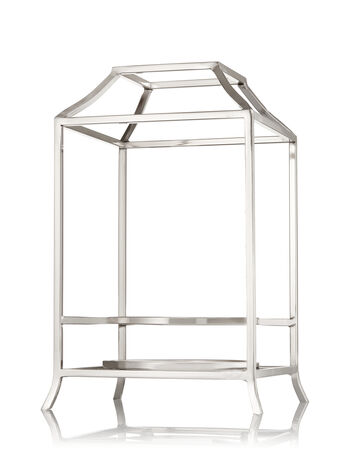 Metal Frame Luminary 3-Wick Candle Sleeve