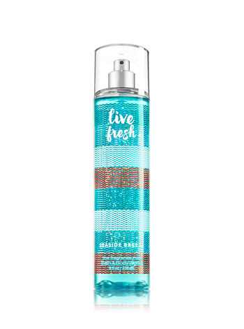 Signature Collection Live Fresh - Seaside Breeze Fine Fragrance Mist - Bath And Body Works