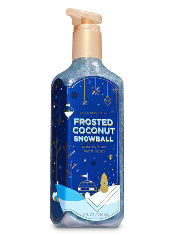 Frosted Coconut Snowball Creamy Luxe Hand Soap - Bath And Body Works