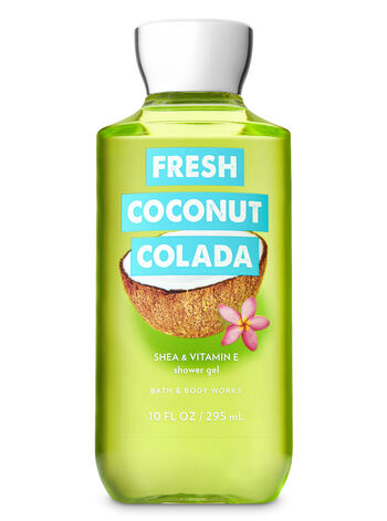 Signature Collection Fresh Coconut Colada Shower Gel - Bath And Body Works