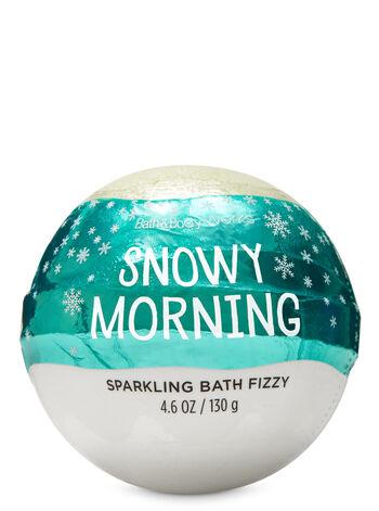 Snowy Morning Bath Fizzy