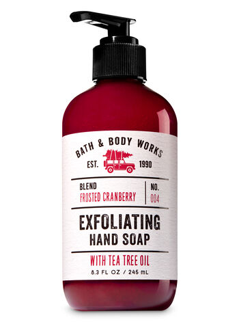 Frosted Cranberry Exfoliating Hand Soap - Bath And Body Works