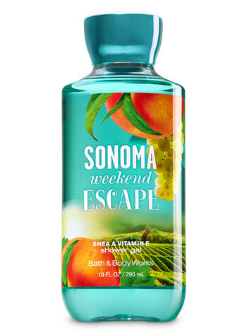Signature Collection Sonoma Weekend Escape Shower Gel - Bath And Body Works