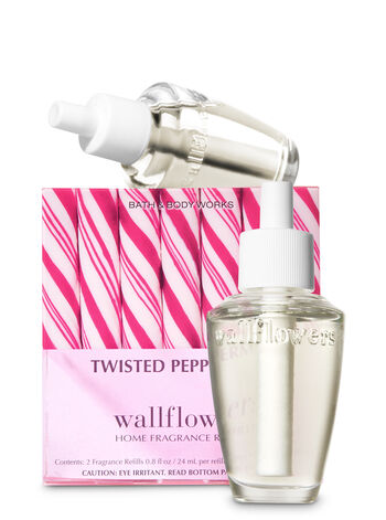 Twisted Peppermint Wallflowers Refills, 2-Pack - Bath And Body Works