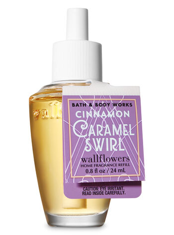 Cinnamon Caramel Swirl Wallflowers Fragrance Refill - Bath And Body Works