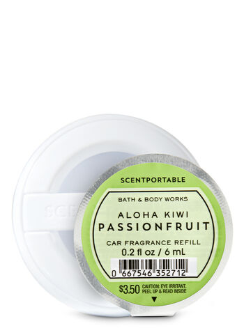Aloha Kiwi Passionfruit Scentportable Fragrance Refill - Bath And Body Works