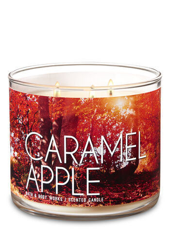 Caramel Apple 3-Wick Candle - Bath And Body Works