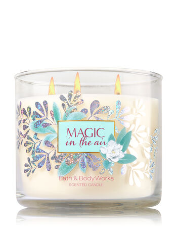 Magic in the Air 3-Wick Candle - Bath And Body Works