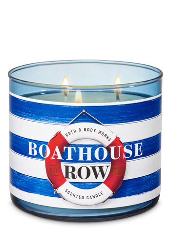 Boathouse Row 3-Wick Candle - Bath And Body Works