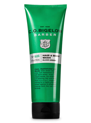 C.O. Bigelow Elixir Green Men's Hair & Body Wash - Bath And Body Works