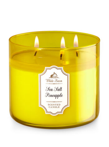 Sea Salt Pineapple 3-Wick Candle - Bath And Body Works
