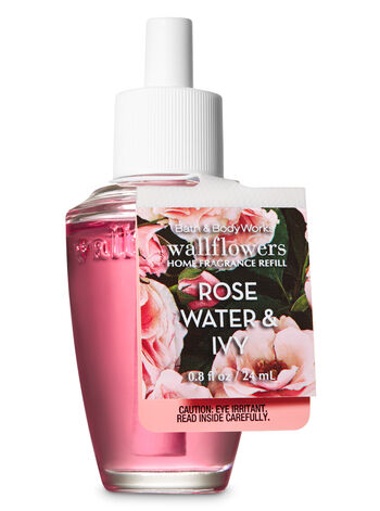 Rose Water & Ivy Wallflowers Fragrance Refill - Bath And Body Works