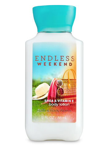 Signature Collection Endless Weekend Travel Size Body Lotion - Bath And Body Works