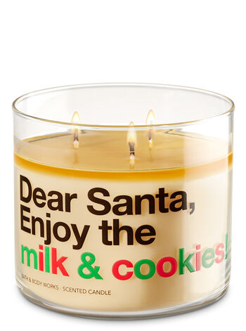 Merry Cookie 3-Wick Candle - Bath And Body Works