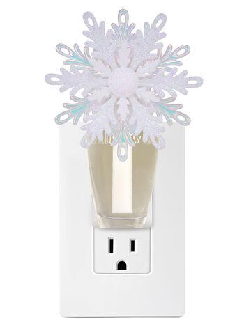 Shimmery Snowflake Nightlight Wallflowers Fragrance Plug