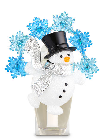 Large Festive Snowman Nightlight Wallflowers Fragrance Plug