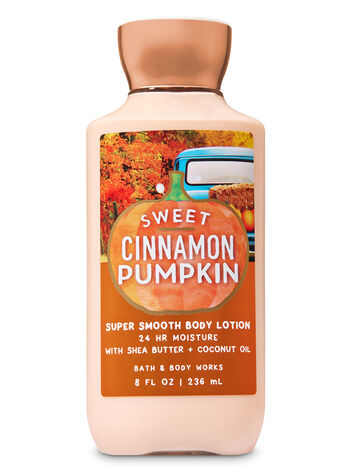 Signature Collection Sweet Cinnamon Pumpkin Super Smooth Body Lotion - Bath And Body Works