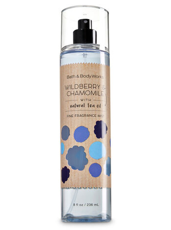 Signature Collection Wildberry & Chamomile Fine Fragrance Mist - Bath And Body Works