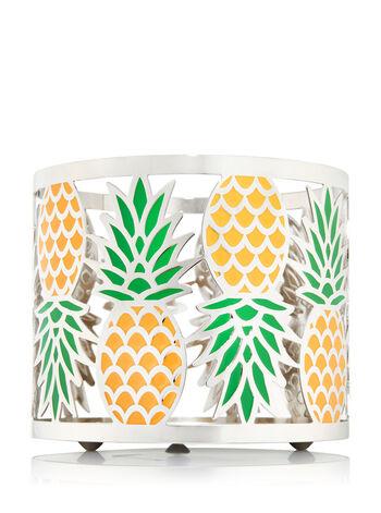 Pineapple 3-Wick Candle Sleeve