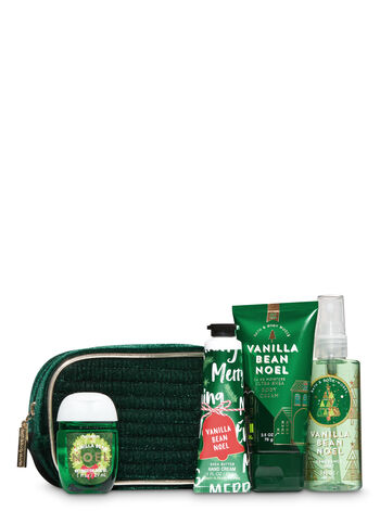 Vanilla Bean Noel Holiday Mini Cosmetic Bag Gift Set