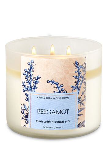 Bergamot 3-Wick Candle - Bath And Body Works