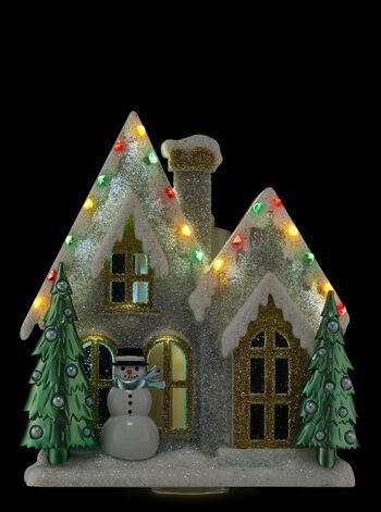 Christmas Cottage Nightlight Wallflowers Fragrance Plug