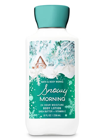 Signature Collection Snowy Morning Super Smooth Body Lotion - Bath And Body Works