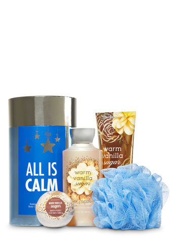 Warm Vanilla Sugar All is Calm Gift Set