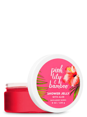 Signature Collection Pink Lily & Bamboo Shower Jelly - Bath And Body Works