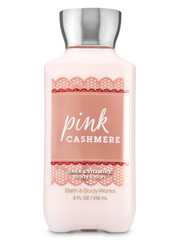 Signature Collection Pink Cashmere Body Lotion - Bath And Body Works