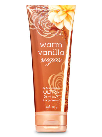 Signature Collection Warm Vanilla Sugar Ultra Shea Body Cream - Bath And Body Works