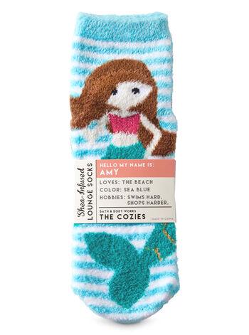 Amy the Mermaid Shea-Infused Lounge Socks