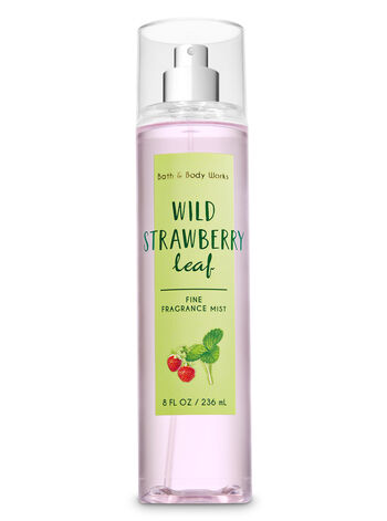 Signature Collection Wild Strawberry Leaf Fine Fragrance Mist - Bath And Body Works