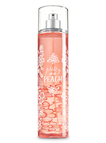 Signature Collection Pretty as a Peach Fine Fragrance Mist - Bath And Body Works