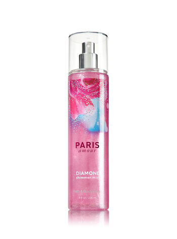 Signature Collection Paris Amour Diamond Shimmer Mist - Bath And Body Works