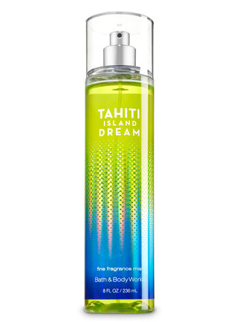 Signature Collection Tahiti Island Dream Fine Fragrance Mist - Bath And Body Works