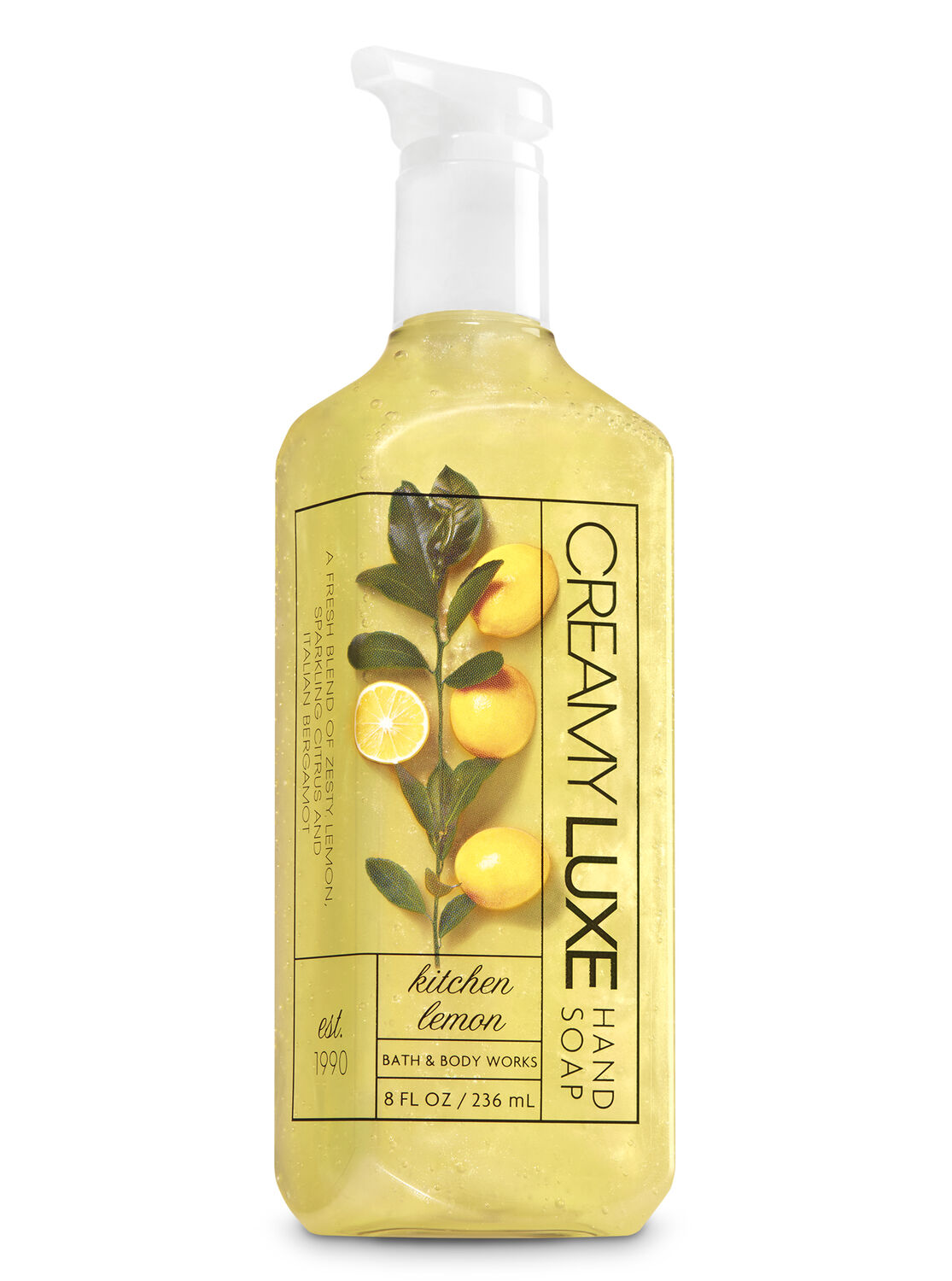 Good Kitchen Lemon Creamy Luxe Hand Soap