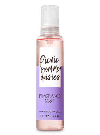 Signature Collection Picnic Summer Daisies Travel Size Fine Fragrance Mist - Bath And Body Works