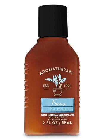 Aromatherapy Focus - Eucalyptus & Tea Travel Size Body Lotion - Bath And Body Works