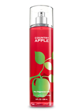 Signature Collection Country Apple Fine Fragrance Mist - Bath And Body Works