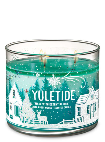 Yuletide 3-Wick Candle - Bath And Body Works