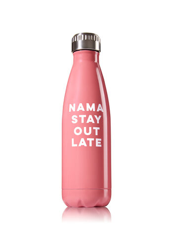 Nama Stay Out Late Metal Water Bottle - Bath And Body Works