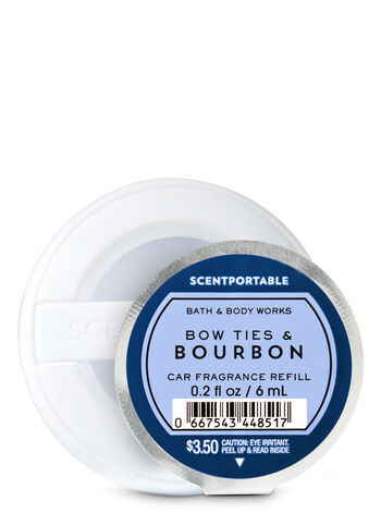 Bow Ties & Bourbon Scentportable Fragrance Refill - Bath And Body Works
