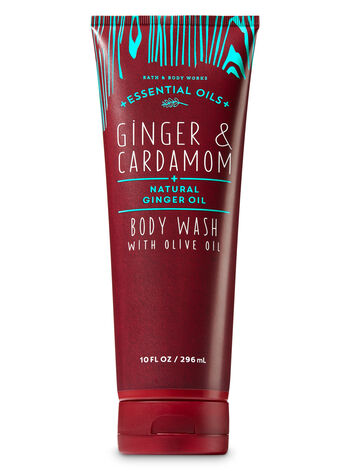 Ginger & Cardamom Body Wash with Olive Oil - Bath And Body Works
