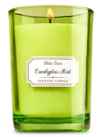 White Barn Eucalyptus Mint Medium Candle - Bath And Body Works