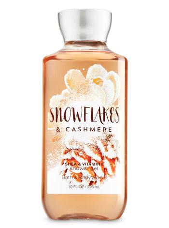 Signature Collection Snowflakes And Cashmere Shower Gel - Bath And Body Works
